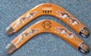 promotional boomerangs with logo printed