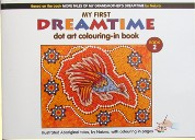 Aboriginal Dot Art Coloring-in Book - Book 2